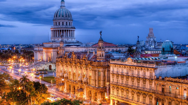 Havana City during night