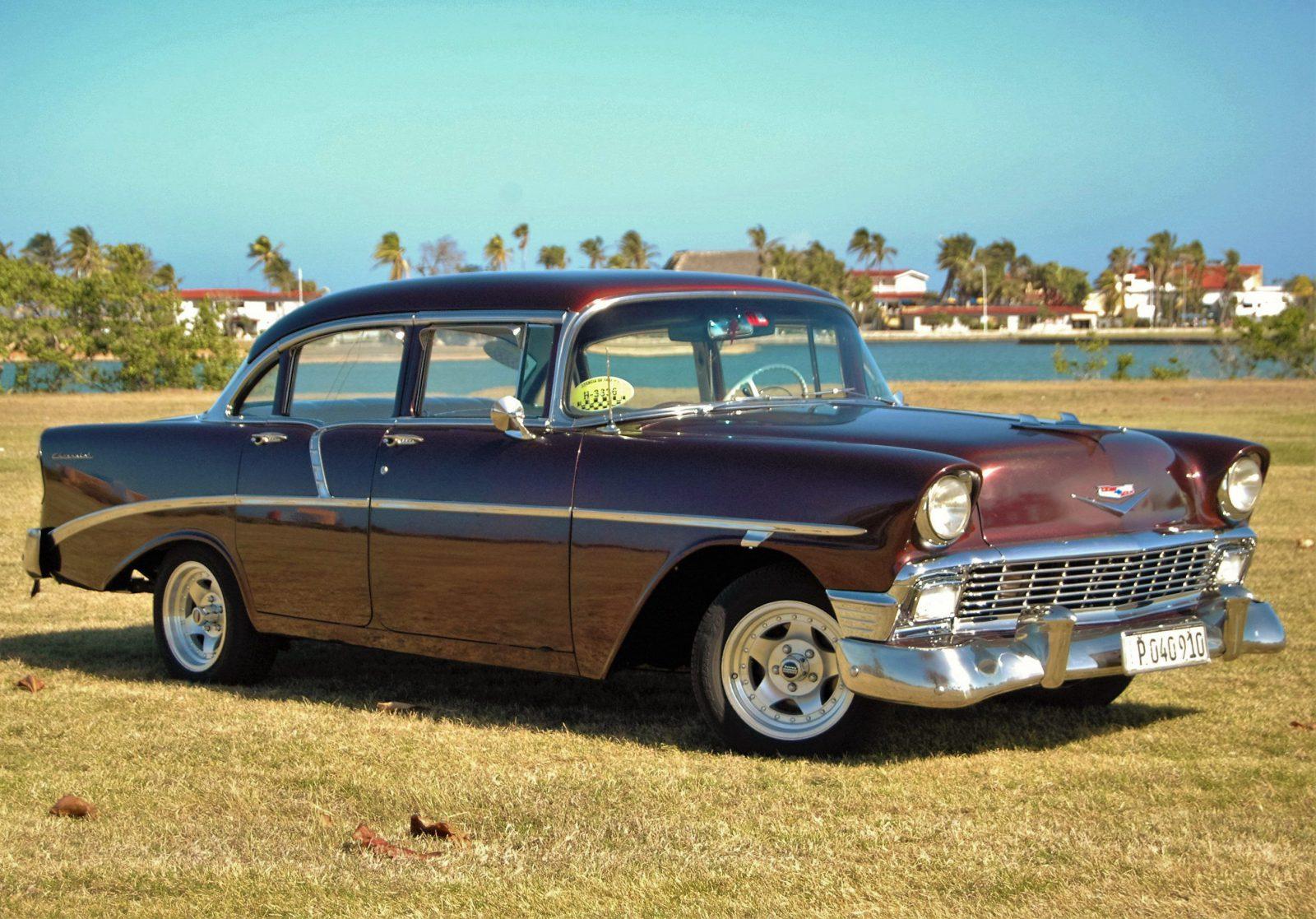 Chevrolet 1956 Bel Air Havana 60 Vintage Car Tours
