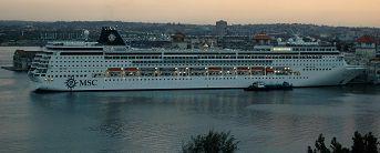 Cruise Ship in Havana