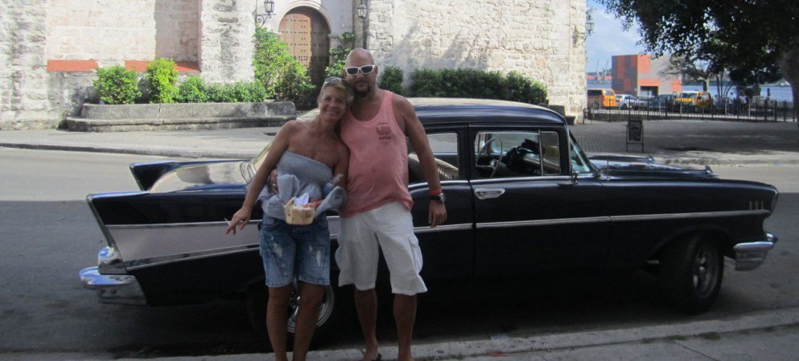 Clients from Blau Marina in Havana
