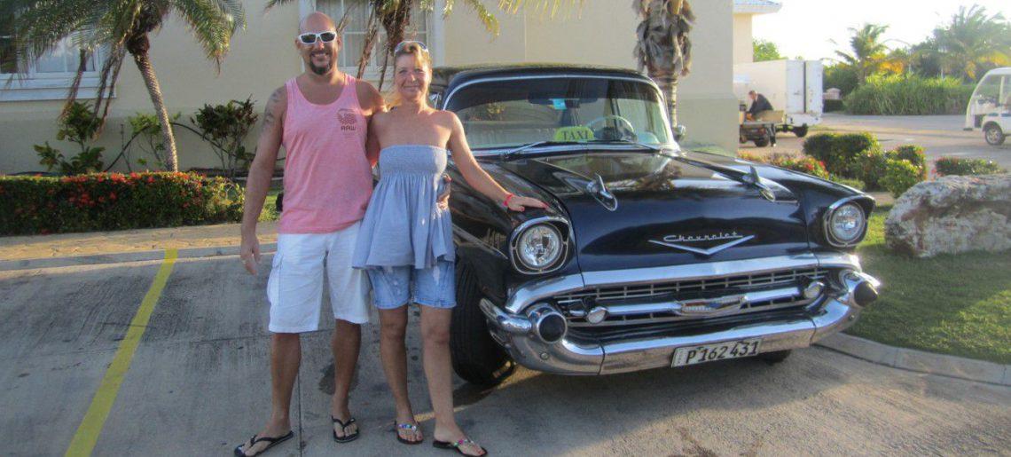 Departing from Blau Marina Palaca Varadero Cuba
