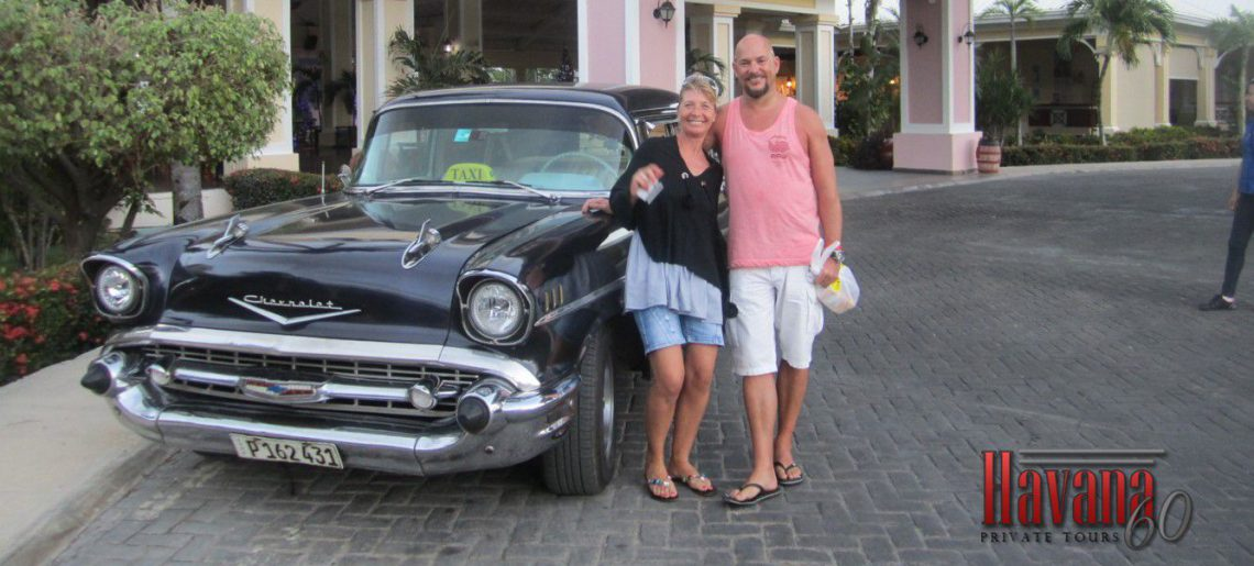 Returning to the hotel after a day-trip Tour in Havana
