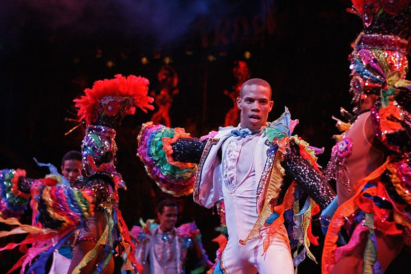 cuban dancers performing a show