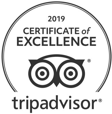 Havana 60 TripAdvisor Certificate of Excellecne 2019