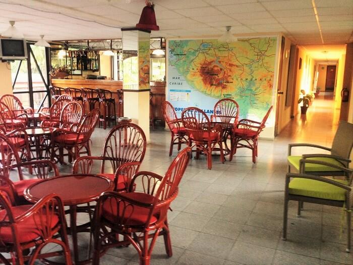 cuban restaurant in topes de collantes