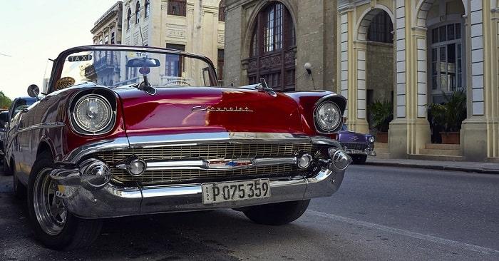 Classic Car Taxi in Cuba