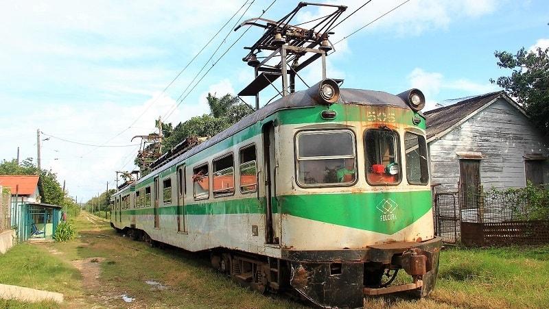 Hershey Train in Cuba