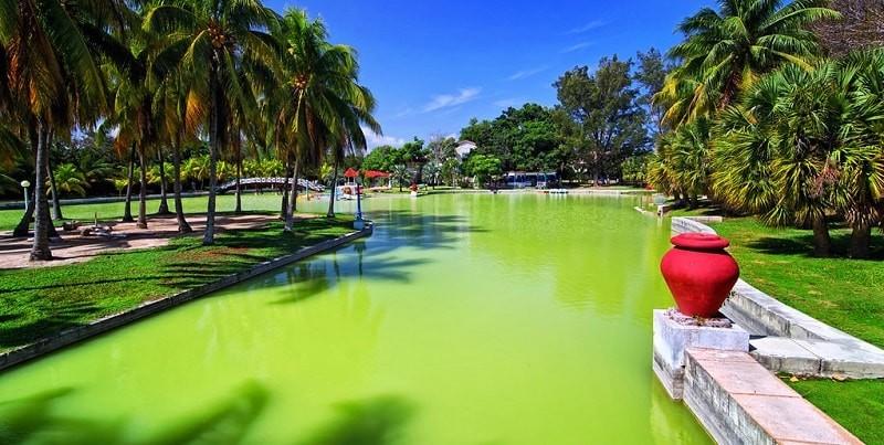 Josone Park in Varadero Cuba-min